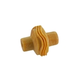 Wooden Mini Roller - Wavy Lines 5mm