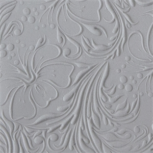Texture Tile: Hibiscus Embossed