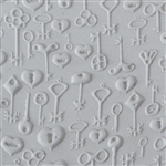 Texture Tile - Skeleton Keys Embossed
