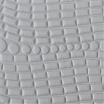 Texture Tile - Morse Code Embossed