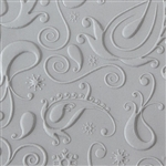 Texture Tile - Lazy Paisley Embossed