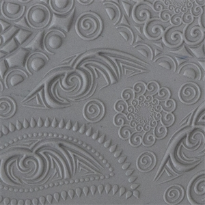 Texture Tile - Paisly Party Embossed