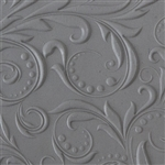 Texture Tile - Leaves and Dots Embossed