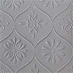 Texture Tile - Woven Daisies Embossed
