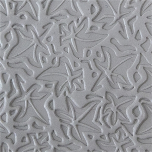 Texture Tile: Woodcut Leaves