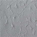 Texture Tile: Gingko Leaves Embossed