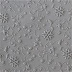 Texture Tile - Floral Curls Embossed