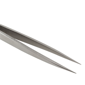 "Tweezers Fine Point Stainless Steel 4-1/2"" Economy"