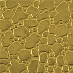 Textured Metal - Creek Bed - Brass 24 gauge