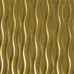 Textured Metal - Willow - Brass 24 gauge