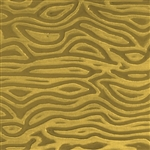 Textured Metal - Wood Grain - Brass 24 gauge