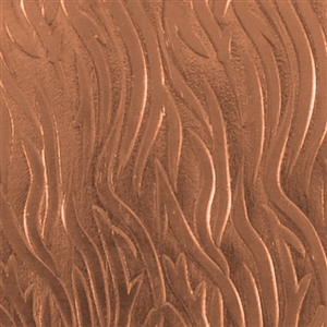 Textured Metal - Zebra - Copper