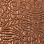 Textured Metal - Avatar Jungle - Copper
