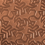 Textured Metal - Tesselation - Copper 24 gauge