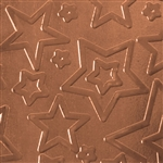 Textured Metal - Star Struck - Copper 20 gauge