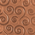 Textured Metal - Gust of Wind - Copper 24 gauge