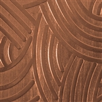 Textured Metal - Interchange - Copper 24 gauge
