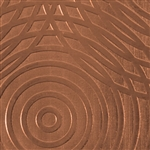 Textured Metal - Sonar - Copper 24 gauge