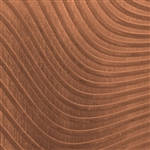 Textured Metal - Full Body Wave - Copper 24 gauge