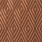Textured Metal - Checkered Past - Copper 20 gauge