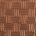 Textured Metal - Easter Basket - Copper 24 gauge