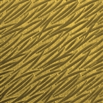 Textured Metal - Banana Leaves - Brass 22 gauge