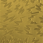 Textured Metal - Chicken Scratch - Brass 22 gauge