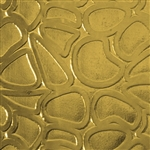 Textured Metal - Cobblestone - Brass 22 gauge