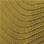 Textured Metal - Full Body Wave - Brass 22 gauge