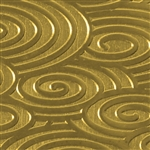 Textured Metal - Round About - Brass 22 gauge