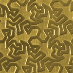 Textured Metal - Tessellation - Brass 22 gauge