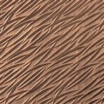 Textured Metal - Banana Leaves - Bronze 22 gauge