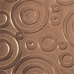 Textured Metal - Bubble Trouble - Bronze 22 gauge
