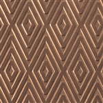 Textured Metal - Checkered Past - Bronze 22 gauge