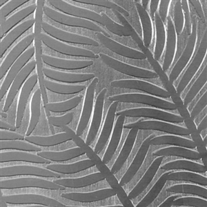 Textured Metal - Ferns or Feathers - Sterling Silver 18 gauge