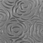 Textured Metal - Bed of Roses - Sterling Silver 18 gauge