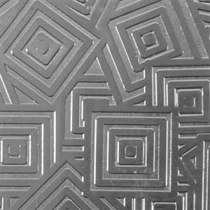 Textured Metal - Square Upon Square - Fine Silver 24 gauge