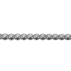 Patterned Strip - 935 Sterling Silver - 3mm Polka Dot 14 gauge - 6 Inches