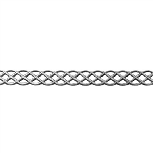 Patterned Wire - Sterling Silver - Knot