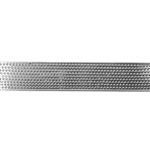 Patterned Strip - 935 Sterling Silver - Sieve 24 gauge - 6 Inches