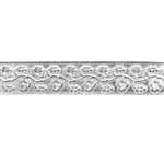 Patterned Strip - 935 Sterling Silver - Grapevine 20 gauge - 6 Inches