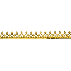 Bezel Wire - Brass - Gallery #2 - 6 inches