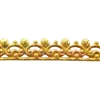 Bezel Wire - Brass - Gallery #6 20 gauge - 6 inches