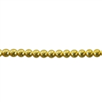 Patterned Wire - Brass - 3mm Polka Dots 8 gauge - 6 inches