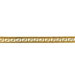 Patterned Strip - Brass - Gallery #3 - 6 inches