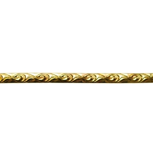 Patterned Strip - Brass - Loose Links