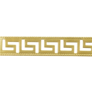 Patterned Wire - Brass - Maze 20 gauge Dead Soft - 6""