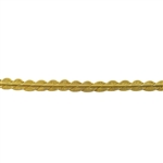 Patterned Strip - Brass - Twisted Scallops 12 gauge - 6 inches