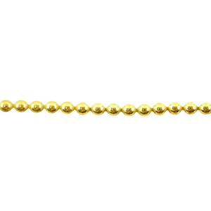 Patterned Strip - Brass - Polka Dots 16 gauge - 6 inches