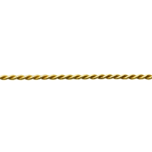 Patterned Wire - Brass Rope #2 16 gauge Dead Soft - 6""